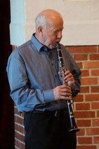 Johs Tersbøl på klarinet